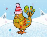 Desenho Pássaro quente pintado por ameireles