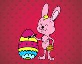 Coloração de ovo de Páscoa