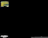 Desenho de Bob Esponja - Plank-Tônus para colorear