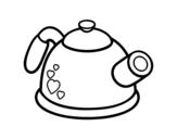 Desenho de Bule de pressão para colorear