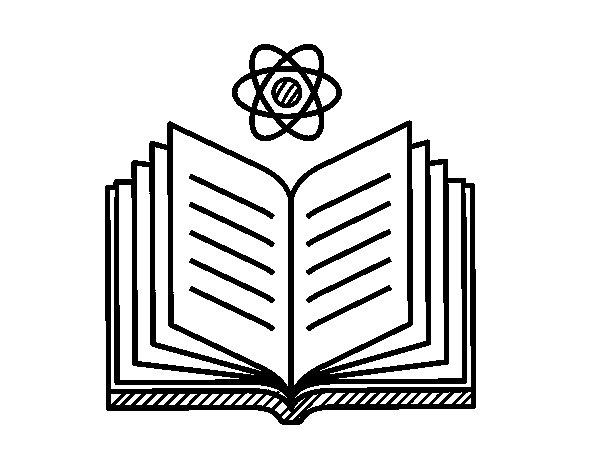 Desenho de Conhecimiento científico para Colorir