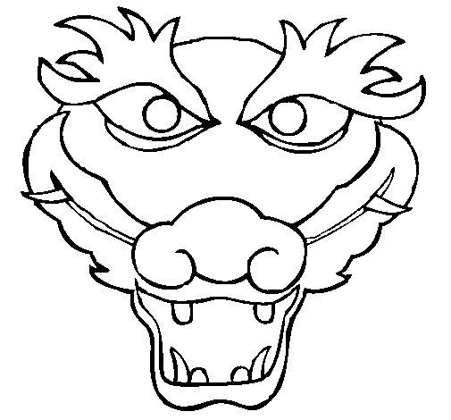 Desenho de Dragão 5 para Colorir