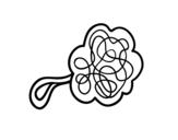 Desenho de Esponja chuveiro para colorear