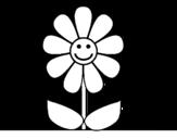 Desenho de Flor de primavera para colorear