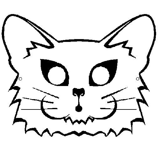 Desenho de Gata para Colorir