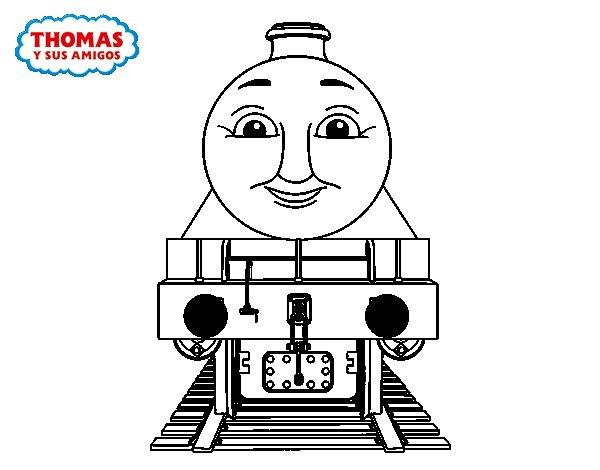 Desenho de Henry de Thomas e seus amigos para Colorir