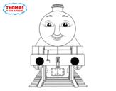 Desenho de Henry de Thomas e seus amigos para colorear