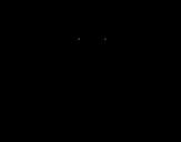 Dibujo de Julio César de criança