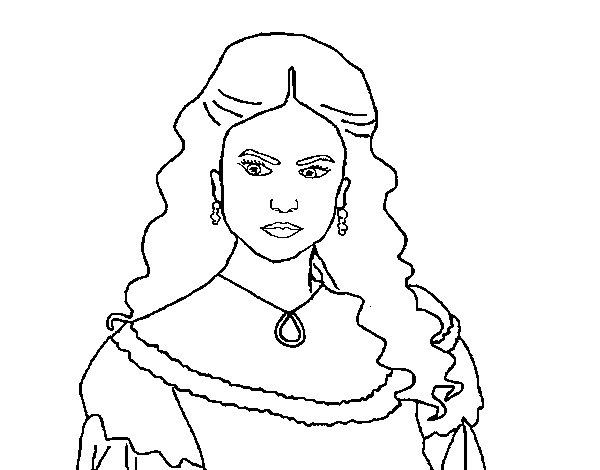 Desenho de katherine pierce da the vampire diaries para colorir - Coloriage vampire diaries ...