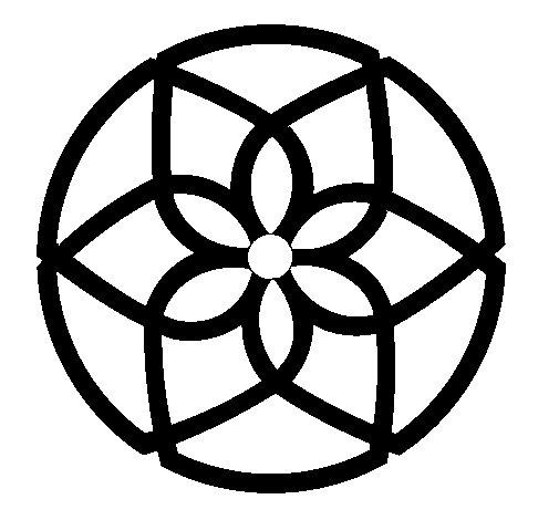 Desenho de Mandala 44 para Colorir