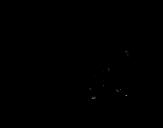 Desenho de Mandril para colorear