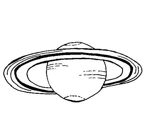 Desenho de Marte para Colorir