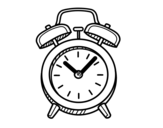 Desenho de Relógio velho para colorear