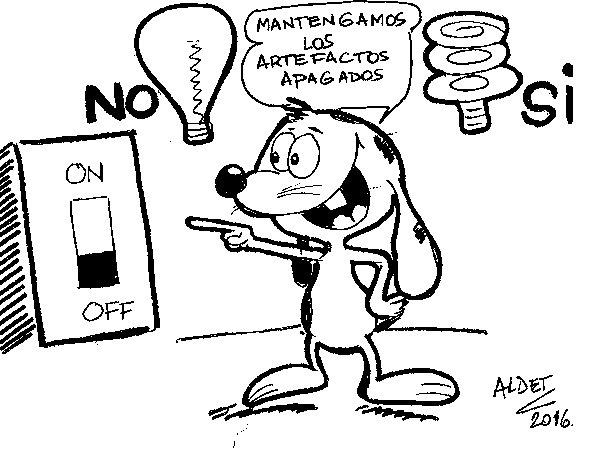 Desenho de Renato e luz de poupança para Colorir