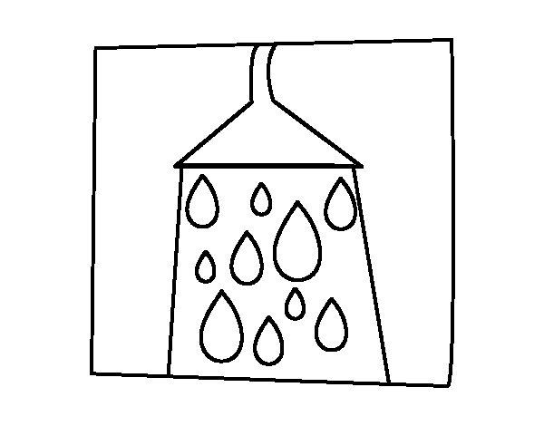 Desenho de Signo do Aquário para Colorir