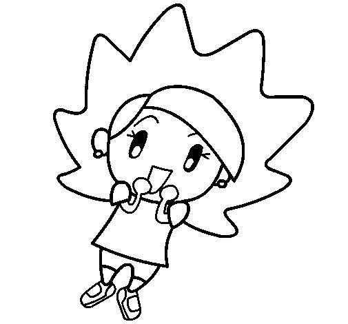 Desenho de Terebintina para Colorir