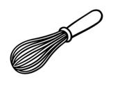 Desenho de Uma escumadeira para colorear