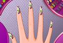 Chloe manicuring