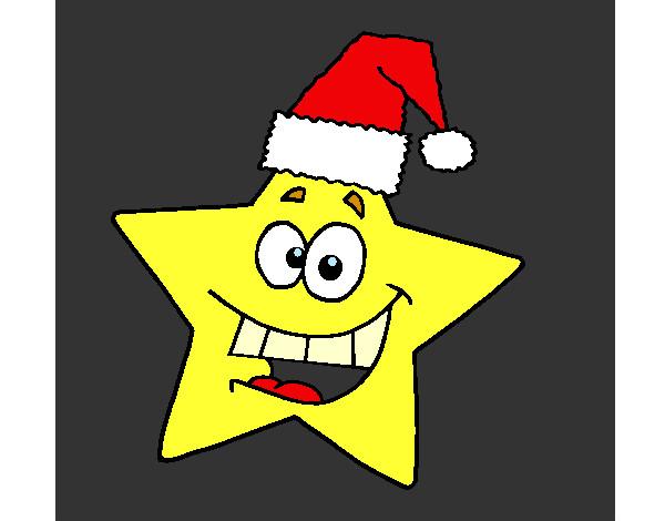 Desenhos De Estrelas De Natal Para Colorir