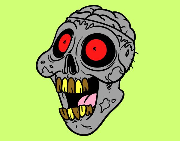 Desenhos De Terror Para Colorir Colorir Com