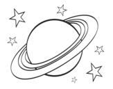 Desenho De Sistema Solar Para Colorir Colorir Com