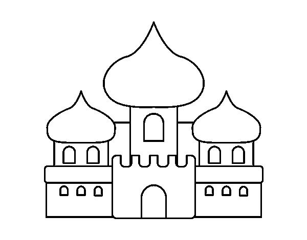 desenho de castelo dos mouros para colorir colorir com